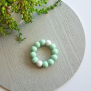 Basics Silicone Teether - Mint