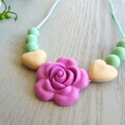 Roseband Mini Me Necklace - Purple