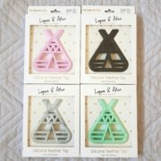 Logan & Alice Teepee Teether