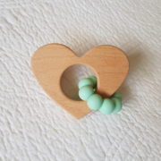 Lovemore Heart Teether - Mint