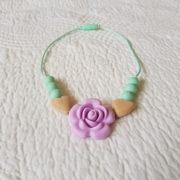 Roseband Mini Me Necklace - Lavender