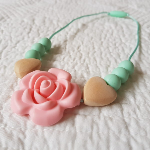 Roseband Mini Me Necklace - Pink