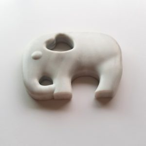 Marble Elephant Silicone Teether