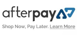 Afterpay available here!